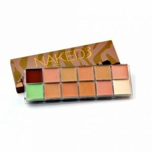 NAKED3: 12 Toner Cream Cover & Corrector